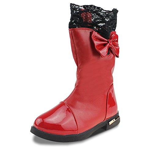 Cixi Maxu E-Commerce.Co.Ltd Maxu Red Bowtie Princess Lace Ch