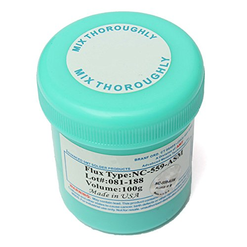 NC-559-ASM TPF Flux Anti-Wet No-Clean 100g Cream AMTECH Solder Paste
