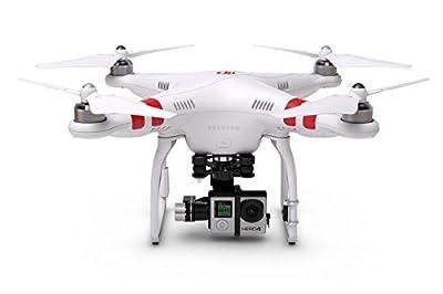 DJI Phantom 2 Quadcopter V2.0 Bundle, 3-Axis Zenmuse H4-3D Gimbal for GoPro Hero 4 Black (White)