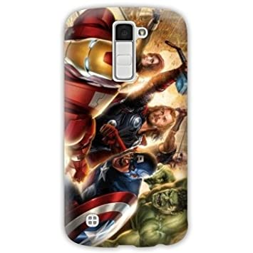 Amazon.com: Case Carcasa LG K10 Superheros 2 - - avenger ...