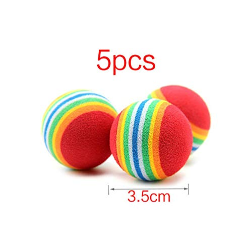 Pet Dog Toys Puppy Funny Interactive Chew Toys for Small Dog Resistant to Bite Teeth Training Rubber Pet Dog Toys Pet Supplies,5pcs Style 9]()