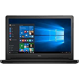 2017 Dell Inspiron 15.6 HD Touchscreen Flagship High Performance Laptop PC, Intel Core i3-7100U Dual-Core, 6GB DDR4, 1TB HDD, DVD RW, Stereo Speakers, MaxxAudio, Bluetooth, Windows 10 (Black)