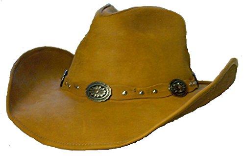 Stetson Roxbury Leather Hat (Large)
