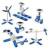 Generic 6 IN 1 Solar Toy DIY Robots Plane Educational Kid Gift Creative