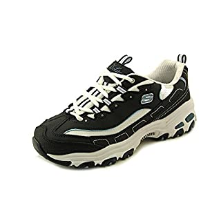 Skechers Sport Women's D'Lites Lace-Up Sneaker, Navy, 8.5 M US (B0012G7X6A) | Amazon price tracker / tracking, Amazon price history charts, Amazon price watches, Amazon price drop alerts