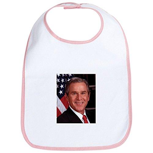 CafePress - George W. Bush Bib - Cute Cloth Baby Bib, Toddler (Bush Bib)