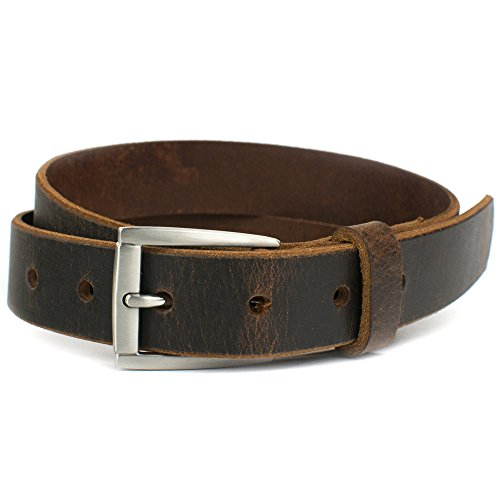 Nickel Free Child's Roan Mountain Belt Distressed Brown Belt- Handmade in USA (27
