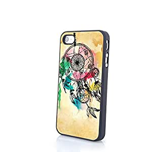 Generic Uncommon Dream Catcher Carrying Case for iPhone 4/4S PC Cover Hard Shell Protector Simple Personalized