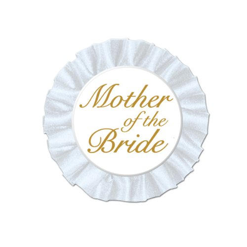 Satin Button - Mother Of The Bride Satin Button Party Accessory (1 count) (1/Pkg)