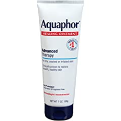 One essential solution for many skincare needs: Aquaphor Healing Ointment is uniquely formulated to restore smooth, healthy skin. This multi-purpose ointment protects and soothes extremely dry skin, chapped lips, cracked hands and feet, minor...