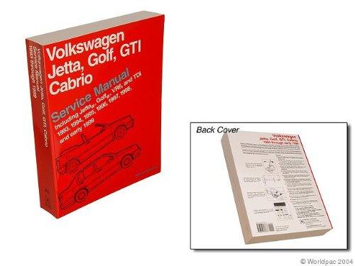 Bentley W0133-1616944-BNT Paper Repair Manual VW Jetta/Golf/GTI (A3) (Golf Repair Manual)