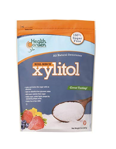 Garden of Health Products Kosher Birch Xylitol (Not from Corn), 5 - Granules Xylitol