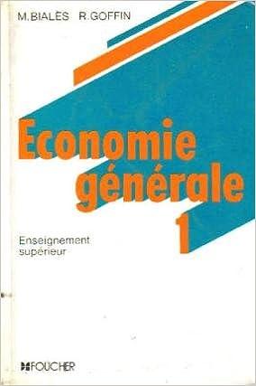 En ligne Économie générale Tome  1 : Économie générale pdf