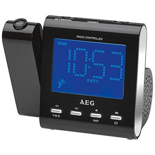 AEG Radio Despertador Proyector MRC 4122 - Vendedores Amazon ...
