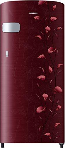 Samsung 192 L 2 Star Direct-Cool Single-Door Refrigerator (RR19N1Y12RZ/HL, Tender Lily Red)