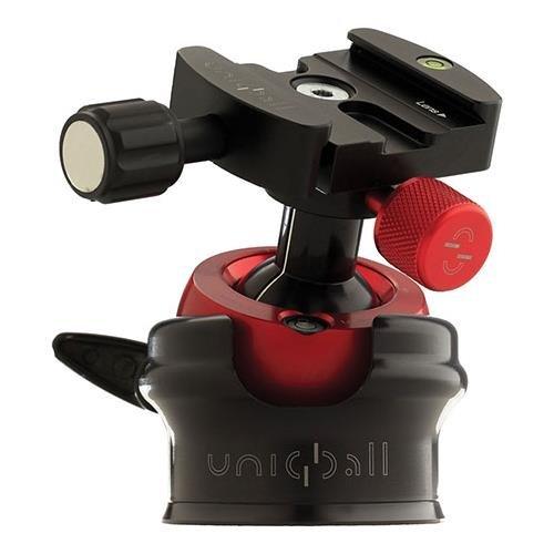 Uniqball UBH 35 Ballheadを組み込みの平準化ベースとpan-tiltヘッド、33lbs / 14.97 KG負荷容量、2.2