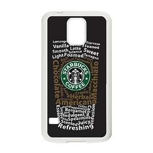 Samsung Galaxy S5 Cell Phone Case White Starbucks 4 UF1168934