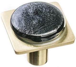 product image for Sietto M-1302-SB Sietto M-1302 Geometric 1-1/4 Inch Square Cabinet Knob