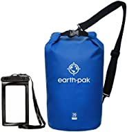 Earth Pak - Waterproof Dry Bag - Keeps Gear Dry for Kayaking, Rafting, Boating, Hiking, Camping and Fishing wi