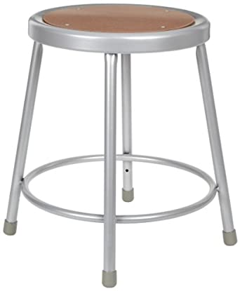 Astonishing Diversified Woodcraft S 18 Gray Steel Stool 16 Width X 18 Ocoug Best Dining Table And Chair Ideas Images Ocougorg