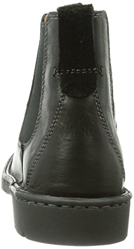 Clarks Uomo Stivaletti Beatles Leather Stratton black Nero schwarz 1Rxr1Awq