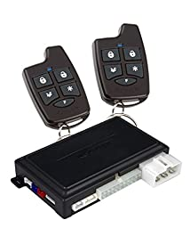 Scytek A4 Complete Remote Security/Engine Start System with Keyless Entry