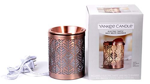(Yankee Candle Electric Tarts Wax Melts Warmer, Bronze Finish)
