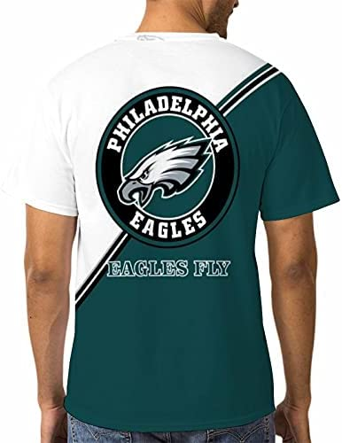 VNNO MENS TSHIRT,SHORT SLEEVE CASUAL POLYESTER SUPPORT FAVORITE TEAM T-SHIRT ORDINARY LOGISTICS DELIVERY USUALLY 8-15 DAYS