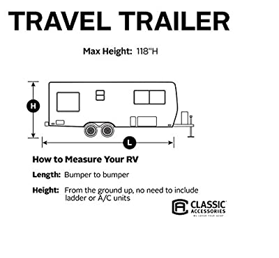 Classic Accessories Overdrive PolyPro III Deluxe Travel Trailer Cover
