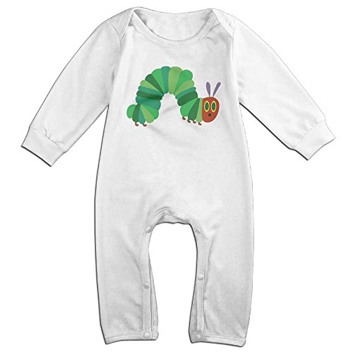 Dadada Newborn The Very Hungry Insect Long Sleeve Jumpsuit Outfits 12 Months ()