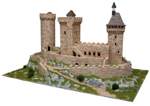 Castle Model (Foix castle Model Kit)