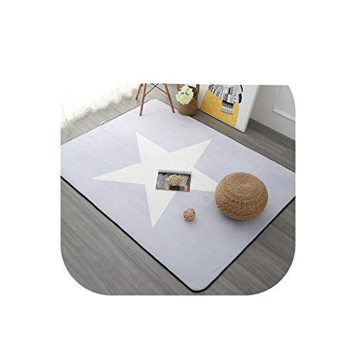 120X180CM Nordic Style Carpets for Living Room Home Bedroom Rugs and Carpets Coffee Table Brief Area Rug Kids Play Mat,ZM8500,100X150CM