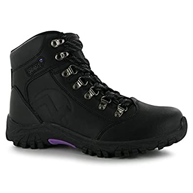 Gelert Womens Leather Walking Boots Outdoor Hiking Ankle