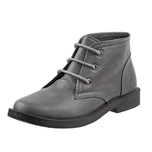 Joseph Allen Boys Desert Chukka Work Boot, Grey Size 11'