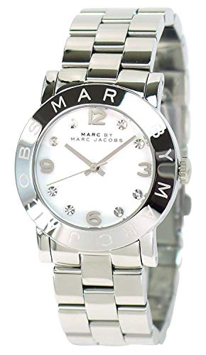 MARC BY MARC JACOBS Men's Ladies Watch Amy Amy MBM 3054 Silver × White Japan