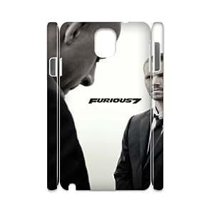 Furious 7 HILDA7033526 3D Art Print Design Phone Back Case Customized Hard Shell Protection Samsung galaxy note 3 N9000