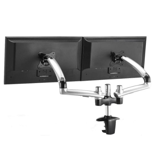 Mount-It! MI-4312 Fully Adjustable Articulating Dual LCD ...