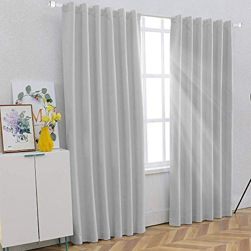 - SHIELD CREATOR 100% Blackout Curtains for Bedroom 84
