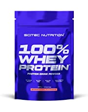 Scitec Nutrition 100% Whey Protein, Flavored Drink Powder with Whey Protein Concentrate and Sweeteners, No added Sugar, Gluten-free and Palm oil-free