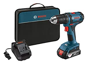bosch ddb181 102 18v lithium ion 1 2 compact tough drill driver with one battery. Black Bedroom Furniture Sets. Home Design Ideas