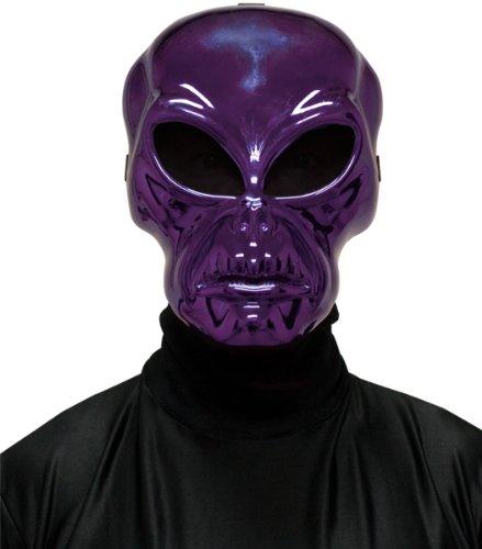 [WMU Alien Hockey Purple Mask] (Hockey Mask For Sale)
