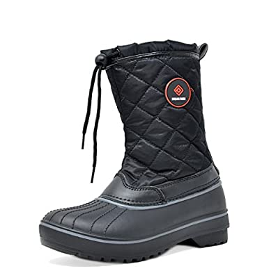 DREAM PAIRS Women's Hunter Mid Calf Winter Snow Boots