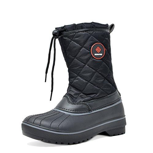 DREAM PAIRS Womens Hunter Mid Calf Winter Snow Boots