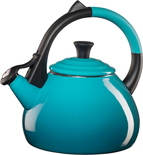Steel 1.6 Quart Oolong Tea Kettle, Caribbean (Loop Tea Kettle)
