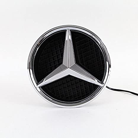 Amazon.com: IHEX Benz insignia delantera con luz: Automotive