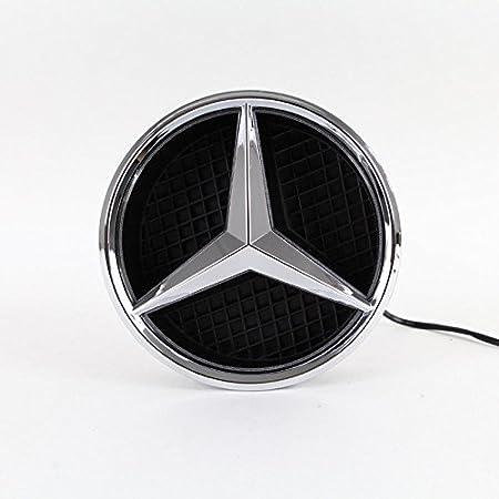 Amazon.com: IHEX Benz insignia delantera con luz: Automotive
