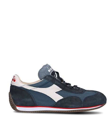 Diadora Heritage Sneakers Uomo 156988EQUIPEC4802 Pelle Blu