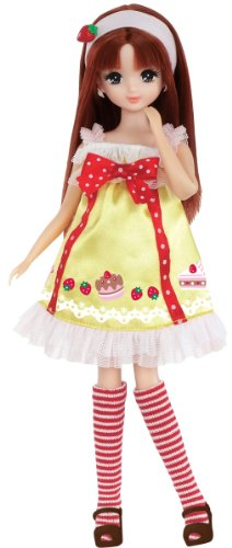 "Licca Chan Sweets ""Strawberry Cake"" Dress Set (Doll NOT Included)"