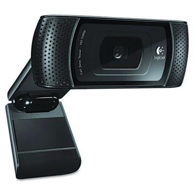 Logitech - Hd C910 Pro Webcam 10Mp Black ''Product Category: Audio Visual Equipment/Cameras & Accessories'' by Logitech (Image #1)