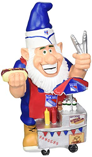 - New York Rangers Caricature Gnome